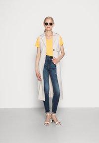 s.Oliver - Basic T-shirt - sunset yellow - 1