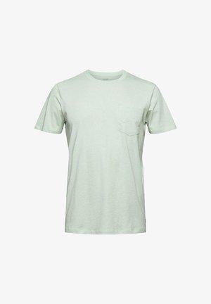 SLIM FIT - Basic T-shirt - pastel green