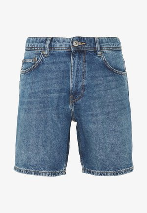 Denim-Short aus 100% Baumwolle - Shorts di jeans - blue