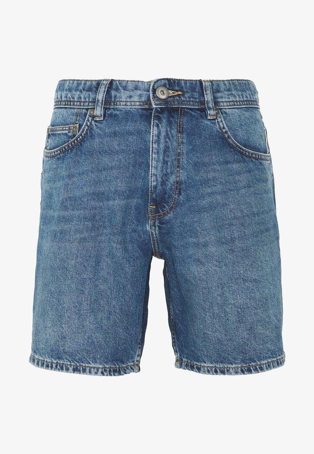 Denim-Short aus 100% Baumwolle - Džínové kraťasy - blue