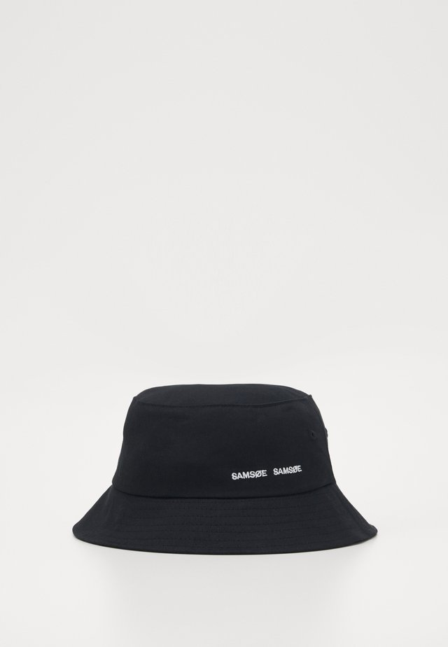 ANTON BUCKET HAT - Sombrero - black
