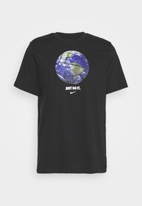 Nike Performance - DRY TEE - Print T-shirt - black - 4
