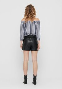 ONLY - OFF SHOULDER TOP GESTREIFTES - Blouse - cloud dancer - 2