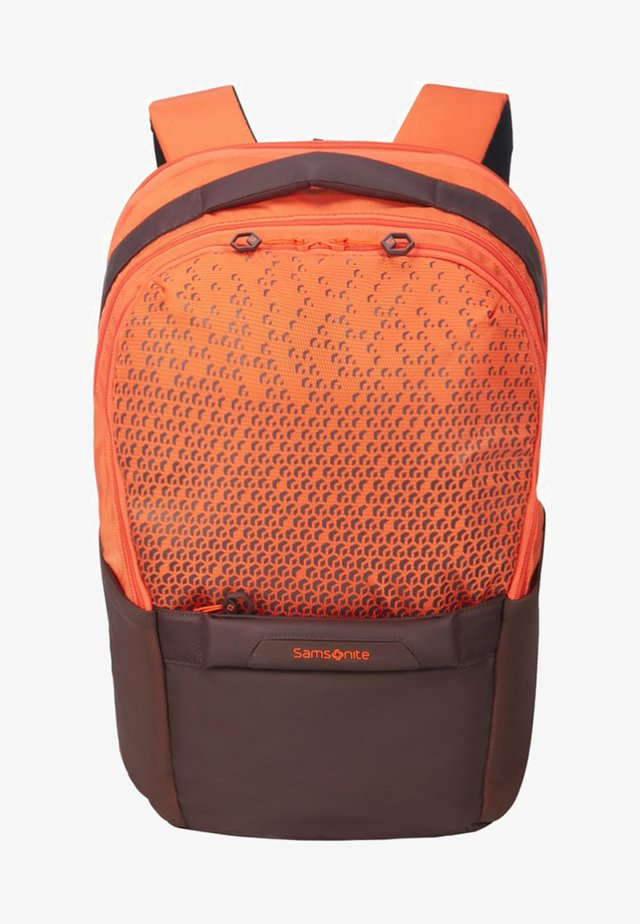 HEXA - Rucksack - mottled orange