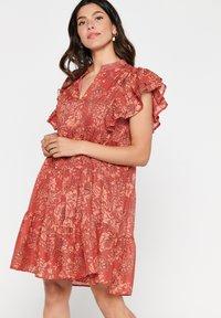 LolaLiza - TATIANA  - Korte jurk - red - 0