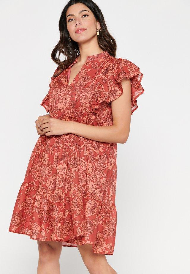 TATIANA  - Day dress - red