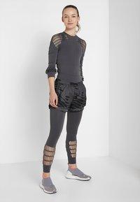 adidas by Stella McCartney - PARLEY SPORT WARP KNIT WORKOUT LEGGINGS - Punčochy - grey five - 1