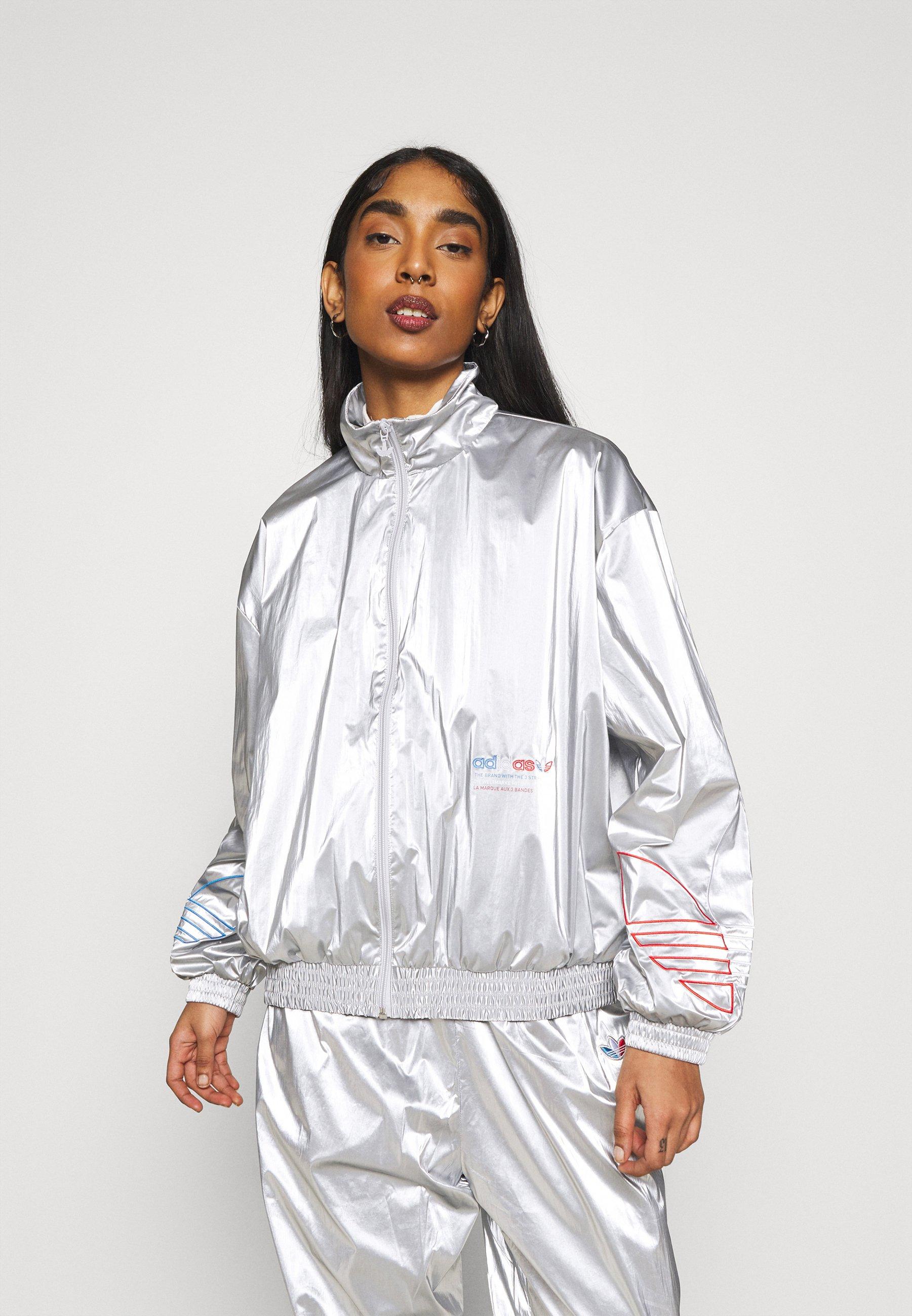 Femme JAPONA  - Veste de survêtement - silver