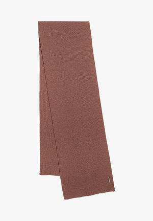 Scarf - natural dusty rose