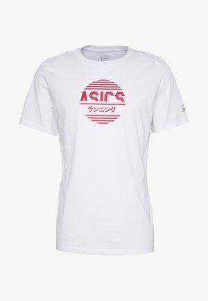 TOKYO GRAPHIC JAPAN TEE - Print T-shirt - brilliant white