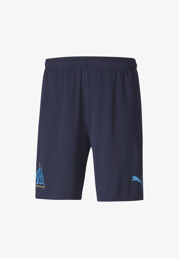 Puma - OLYMPIQUE MARSAILLE SHORTS REPLICA - Sports shorts - peacoat-bleu azur