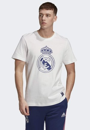 REAL MADRID DNA GRAPHIC T-SHIRT - Klubbkläder - white
