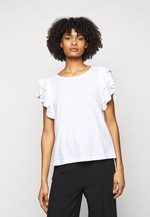 JISANE - Print T-shirt - weiss