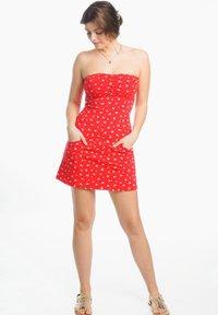 Strange - Cocktail dress / Party dress - red - 1