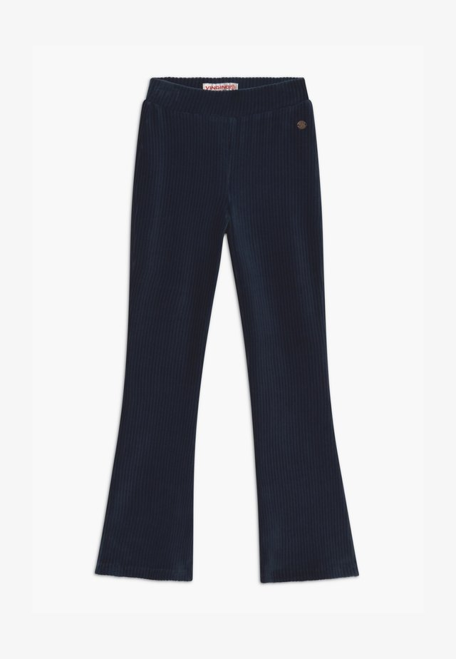 SARI FLARED - Trousers - dark blue