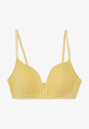 Underwired bra - yellow