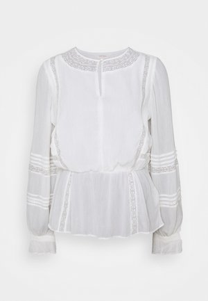 LACE PEP BLOUSE - Blouse - white