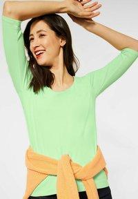 Street One - BASIC STYLE - Long sleeved top - grün - 0