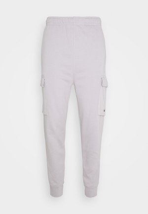 PANT CARGO - Tracksuit bottoms - silver lilac