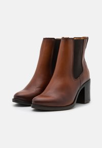 Anna Field - LEATHER - Classic ankle boots - cognac - 1