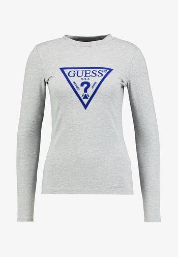 KUMIKO - Long sleeved top - stone heather grey