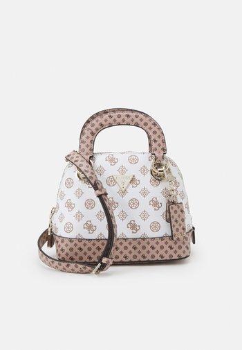 CESSILY SMALL DOME SATCHEL - Handbag - white multi