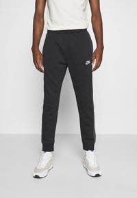 Nike Sportswear - Trainingsbroek - black heather/smoke grey/white - 0