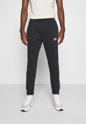 Tracksuit bottoms - black heather/smoke grey/white