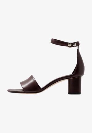 SANDY - Sandals - burgundy