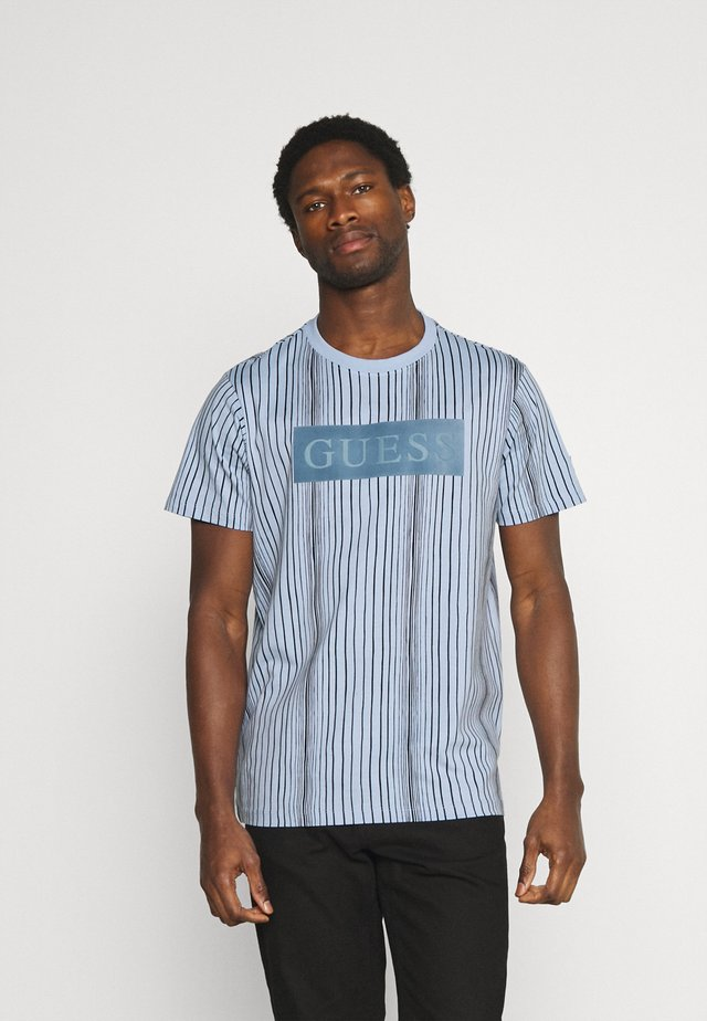 DESERT OBJECT - Print T-shirt - steel pastel/black