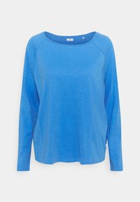 Marc O'Polo DENIM - LONG SLEEVE RAGLAN SLEEVE RELAXED FIT - Long sleeved top - intense blue - 0
