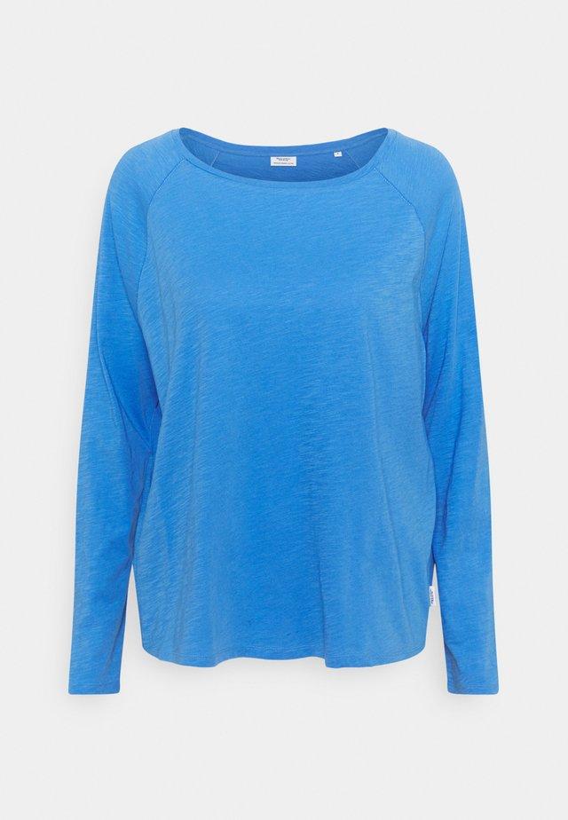 LONG SLEEVE RAGLAN SLEEVE RELAXED FIT - Maglietta a manica lunga - intense blue