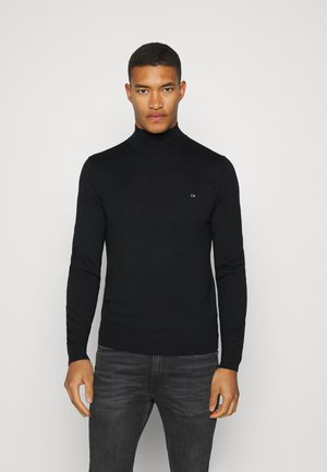 SUPERIOR MOCK - Pullover - black
