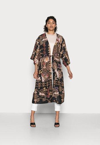 TIGIA KIMONO - Summer jacket - black