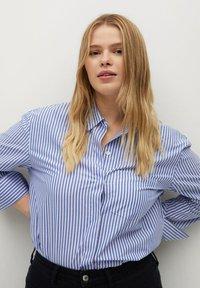 Violeta by Mango - Button-down blouse - dark blue - 2