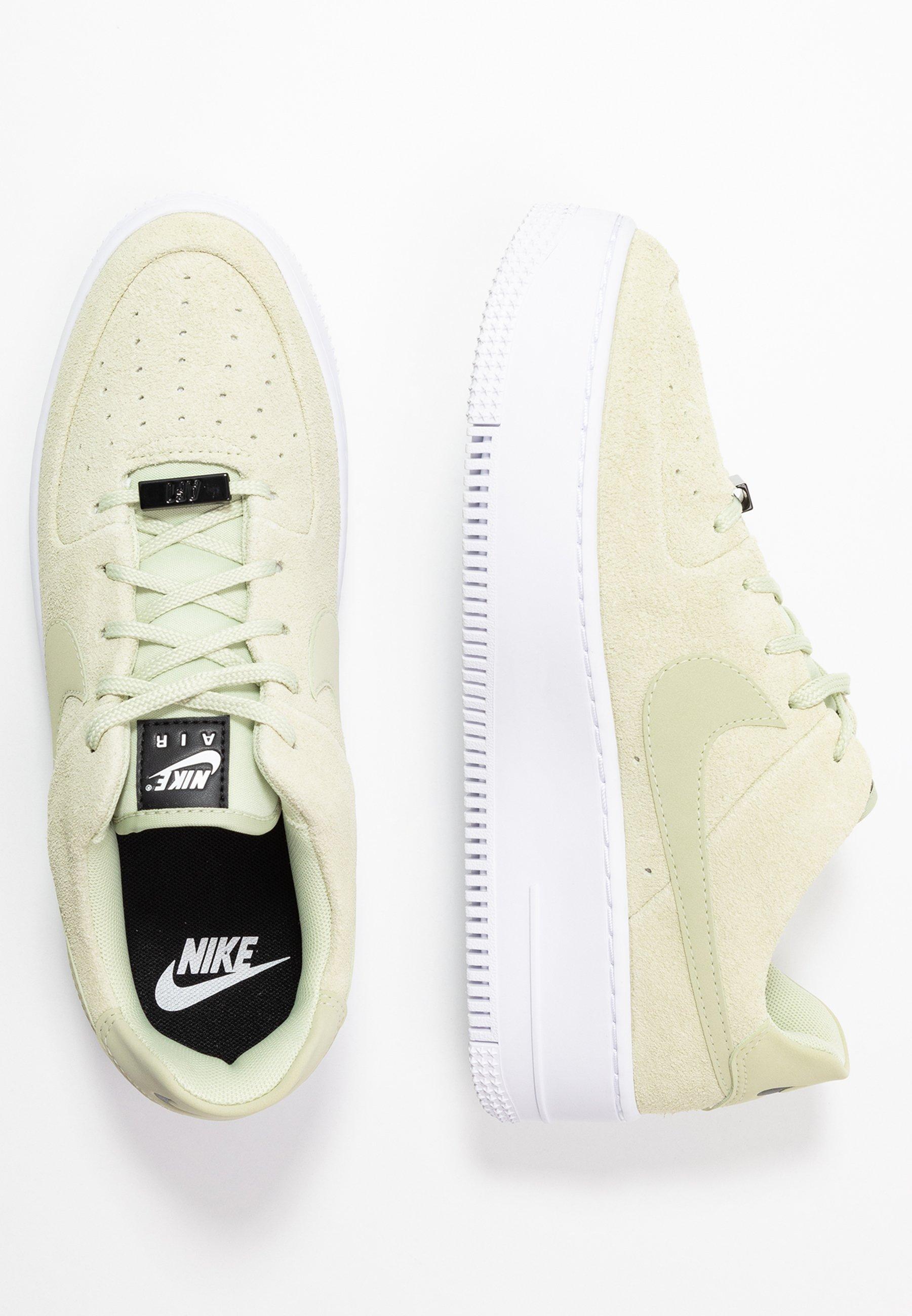 Nike Plateau Sneaker 'Air Force 1' WeißBlauGrün | NEU