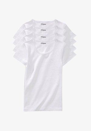 4  PACK - Basic T-shirt - weiß