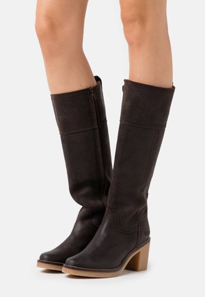 AVERNO - Boots - dark brown