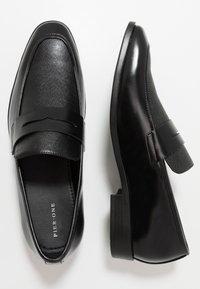 Pier One - Mocassini eleganti - black - 1