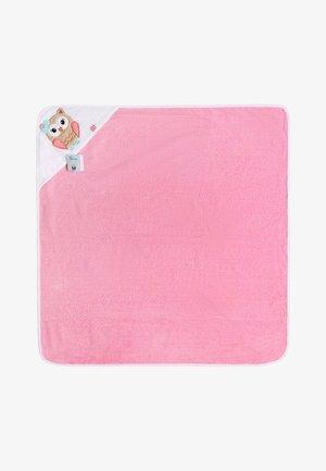Bath towel - rose/owl