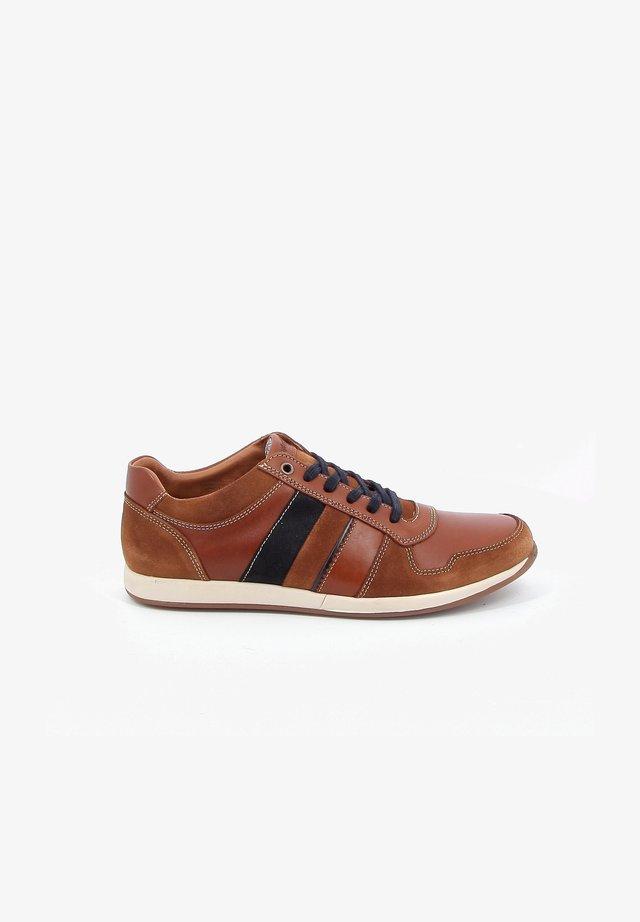 WESA - Sneakers laag - cognac