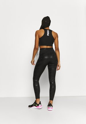 TRAIN 7/8 - Leggings - black