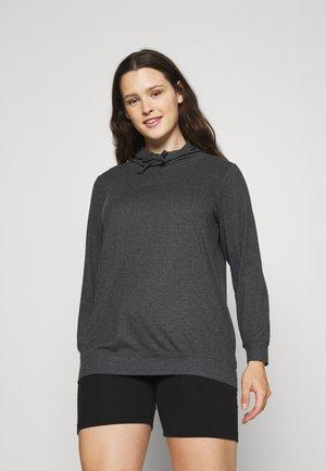 EINGVILD - Long sleeved top - dark grey melange