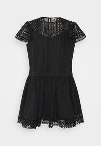 TWINSET - ABITO CON SOTTOVESTE  - Day dress - nero - 4
