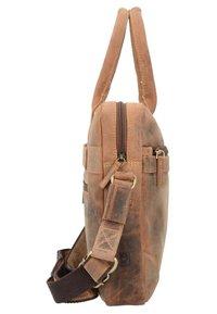 Greenburry - VINTAGE - Briefcase - nut brown - 2