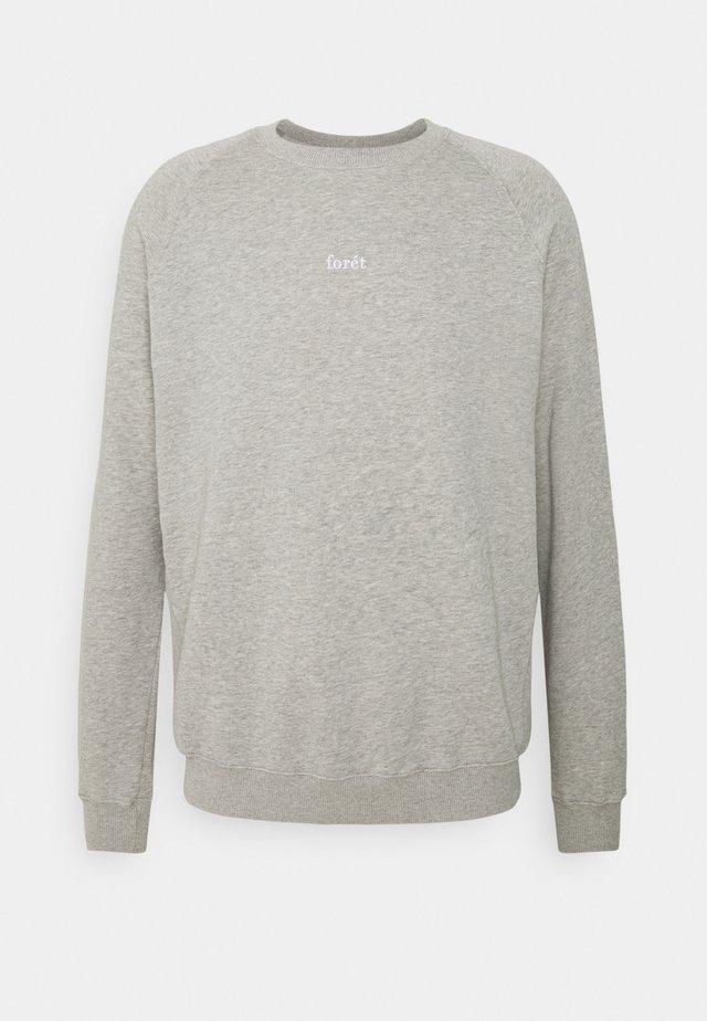 Sweater - light grey melange
