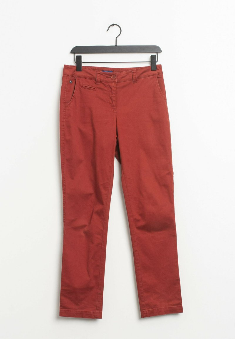 Cecil - Trousers - red