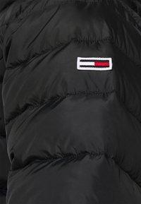 Tommy Jeans Curve - ESSENTIAL HOODED JACKET - Winter jacket - black - 5