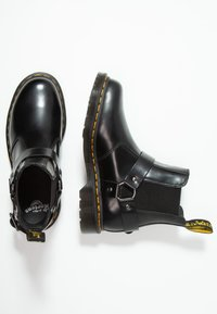 Dr. Martens - WINCOX CHELSEA BOOT - Kotníkové boty - black smooth - 1