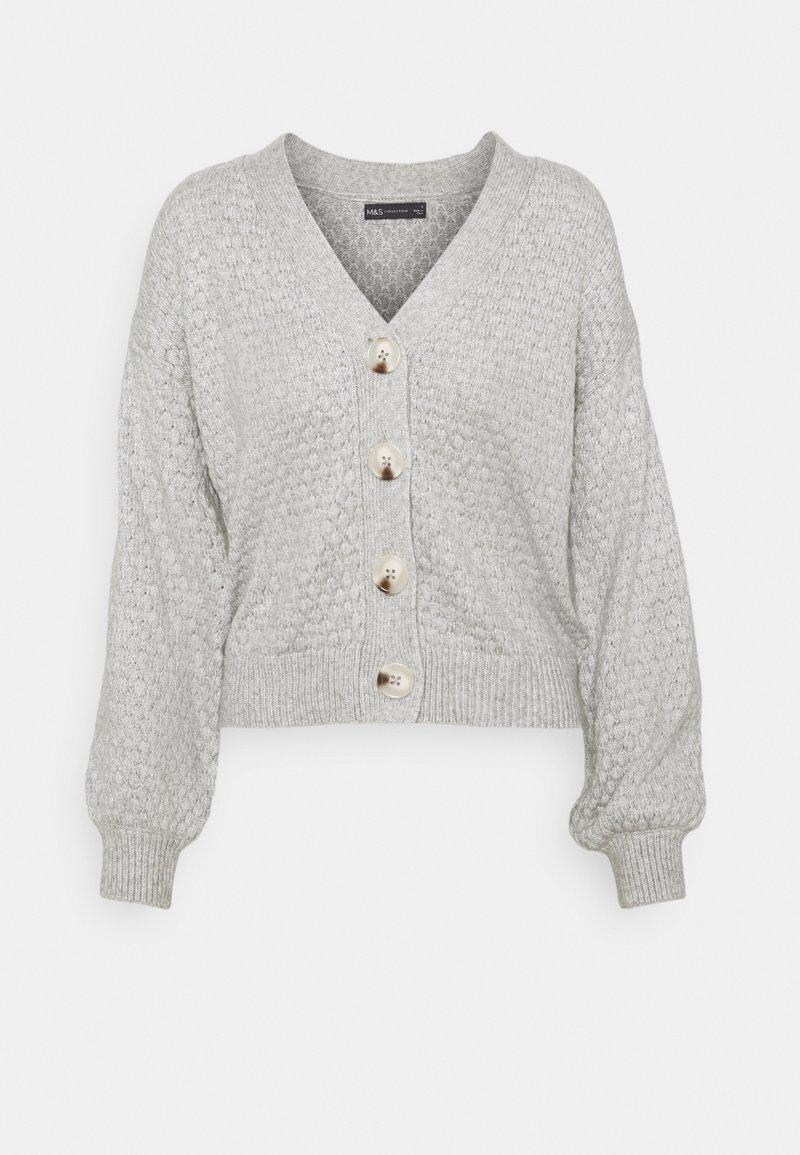 Marks & Spencer London - BRAMBLE CARDI - Cardigan - grey